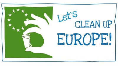 let's clean up europe banner